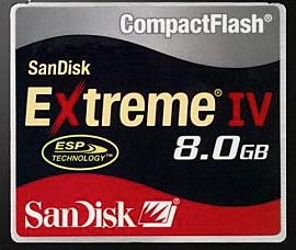 CompactFlash Media Test Results.