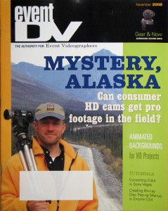 Event DV magazine cover image