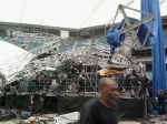 Stage rigging gone bad- be SAFE!