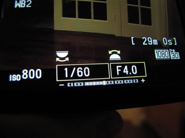 Nikon P7700 adjustments