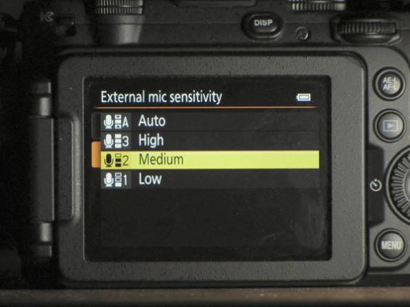 Nikon P7700 Audio