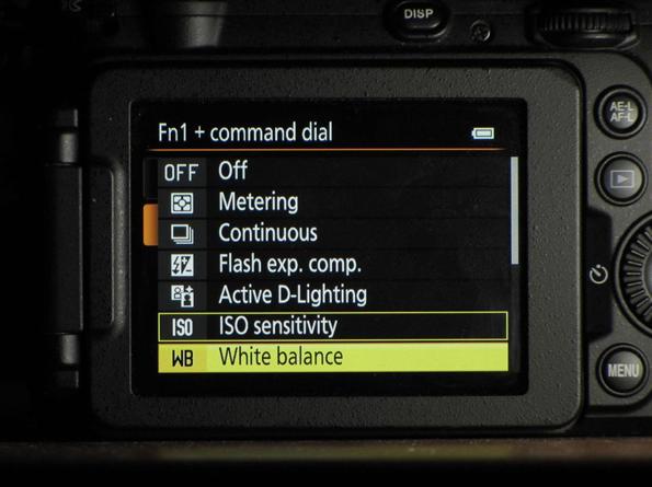 Nikon P7700 function setting