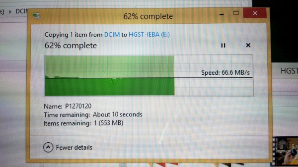 TW100 SDto HDD copy