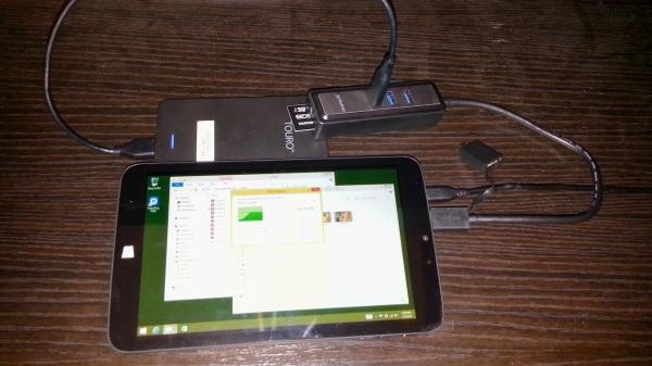 TW800 hub SD & HDD
