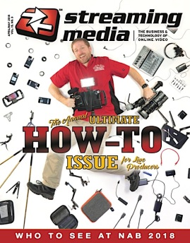 When it comes to mobile live production, Anthony wrote the book!, Or at least he wrote a very comprehensive article for Streaming Media Producer Magazine